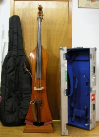 Semi-acoustic double bass